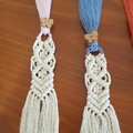 Handmade Macrame Cotton Bookmark