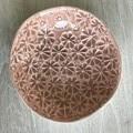 11.5cm Flowers Dish - Pink