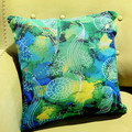 Cushion Cover - 'Sea Swirls'