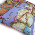 Vintage Retro Tea Towel - DOGS cute illustration Cushion