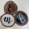 Rustic Wooden Coasters - Custom - Set of 6