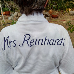 Embroidery for Bridal Party Robes