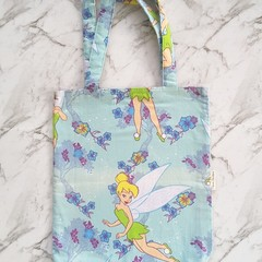 Tinkerbell Bag | Library Bags Girl Bookbag or Dance Bag | Fairy Tote Bag