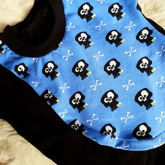 Skull and Crossbone crossover cotton shirt - Baby - Toddler size 0 (12m)