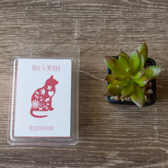 Victorian Rose , Soy Wax Melt - Hand poured, Maximum Fragrance
