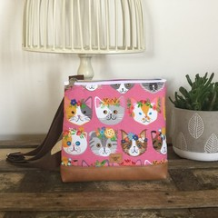 Girls Crossbody Bag - Cats