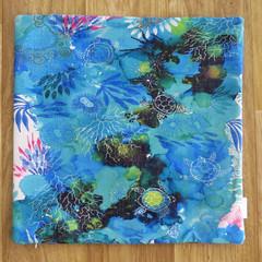 Cushion Cover - 'Lagoon Retreat'