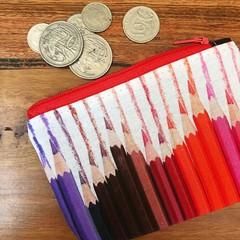 Coin purse - pencil