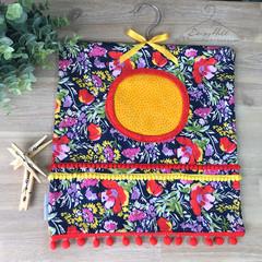 Floral Funky Peg Bag