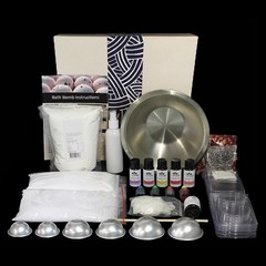 Gift boxed bath bomb making kit FREE SHIPPING