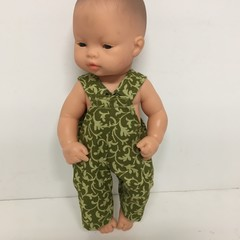 Miniland Dolls Overalls to fit 3cm dolls
