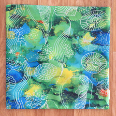 Cushion Cover - 'Sea Swirls'