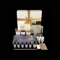 Luxury Soap Making Kit with natural exfoliants & colour- FREE SHIPPING
