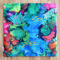 Cushion Cover - 'Reef Garden'