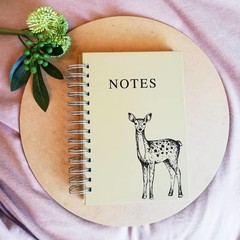 Notebook Woodland Deer
