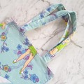Tinkerbell Bag | Library Bags Girl Bookbag or Dance Bag | Fairy Tote Bag