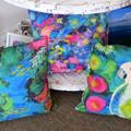 Cushion Cover - 'Reef Garden'