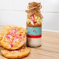 CANDY CANE Crush Cookie Mix.