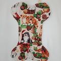 Dog Christmas Stocking  (Christmas Dogs design)