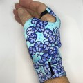 Sunglove: lycra, sun protection,  fingerless, palm free, golf