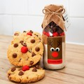 RUDOLPH Cookie Mix in a bottle. An adorable Christmas gift | treat | activity.