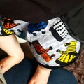 Super funky cotton shorts - baby - children - toddler - size 3