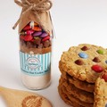 RAINBOW OAT Cookie Mix in a bottle. - makes 6 or 12 delicious cookies.