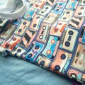 Retro Mix Tape french terry Tshirt - sweatshirt - baby - toddler - size 0 (12m)