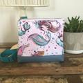 Girls Crossbody Bag - Mermaids (fair)