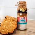 CHRISTMAS Cookie Mix in a bottle. - makes 6 or 12 large cookies