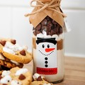 MELTED SNOWMAN Cookie Mix. An adorable Christmas gift | treat | activity