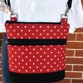 Red Dots   - Crossbody Handbag