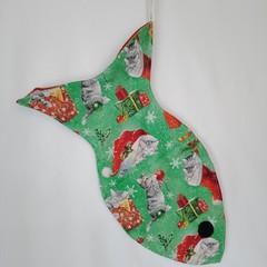Cat Christmas Stocking  (Christmas Kittens design)