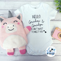 Unicorn & Bear Personalised Wheat Bag Use hot/cold 100% Australian Kids Gift