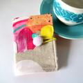 Tea Bag Wallet - Candy Rainbows