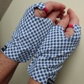 Gloves, sungloves,fingerless,  (pair) cycling, driving, walking sun protection