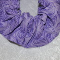 Purple Handmade Scrunchie