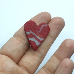 Love Heart Brooch