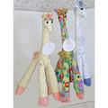 Jungle Jim and friends,soft toy giraffes