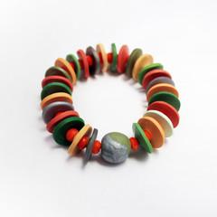 Grevillea – Polymer Clay Bracelet