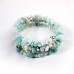 Amazonite – Gemstone Chip Bracelet