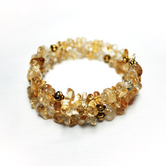 Citrine – Gemstone Chip Bracelet