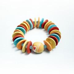 Sunrise – Polymer Clay Bracelet