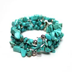 Turquoise – Gemstone Chip Bracelet