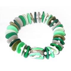 Woodland – Polymer Clay Bracelet