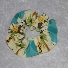 Jungle Theme Scrunchie
