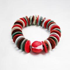 Flame – Polymer Clay Bracelet