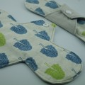 "Heartwood Trees 6"" Liner Washable Reusable Cloth Menstrual Pad"