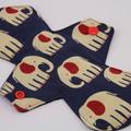 "Elephants 6"" Liner Washable Reusable Cloth Menstrual Pad"