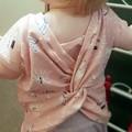 Mystical twist back cotton shirt - Baby - Toddler size